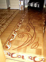 ID:313; B1 Border, M29 parquet with custom inlay